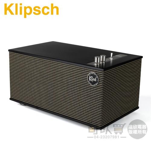 美國 Klipsch ( The Three II/Matte Black ) 復古經典無線藍牙喇叭-霧黑色 -原廠公司
