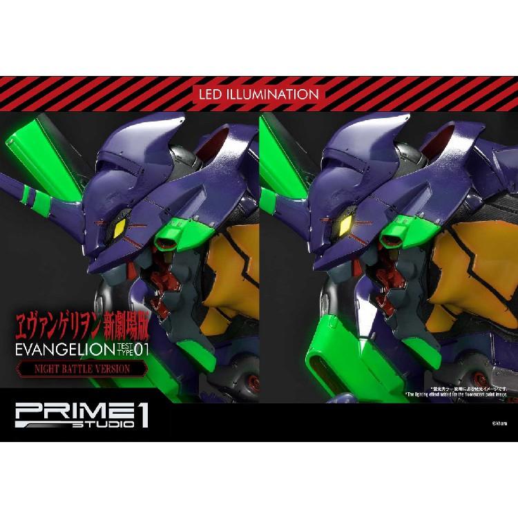 現貨Prime 1 Studio P1S 新世紀福音戰士 EVA 初號機 新劇場版 夜光