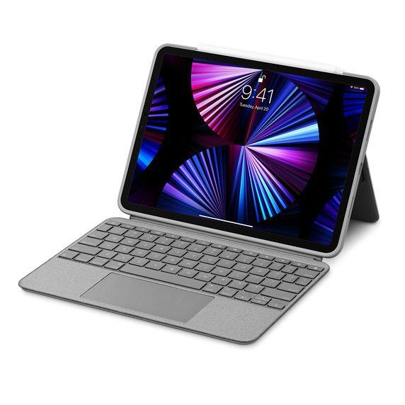 《新品》Logitech Combo Touch鍵盤式保護殼配觸控板11英寸iPad Pro第三代