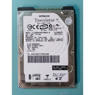 故障 HITACHI 2.5吋 40GB(40G) IDE介面 筆電硬碟 IC25N040ATMR04-0 桃園市