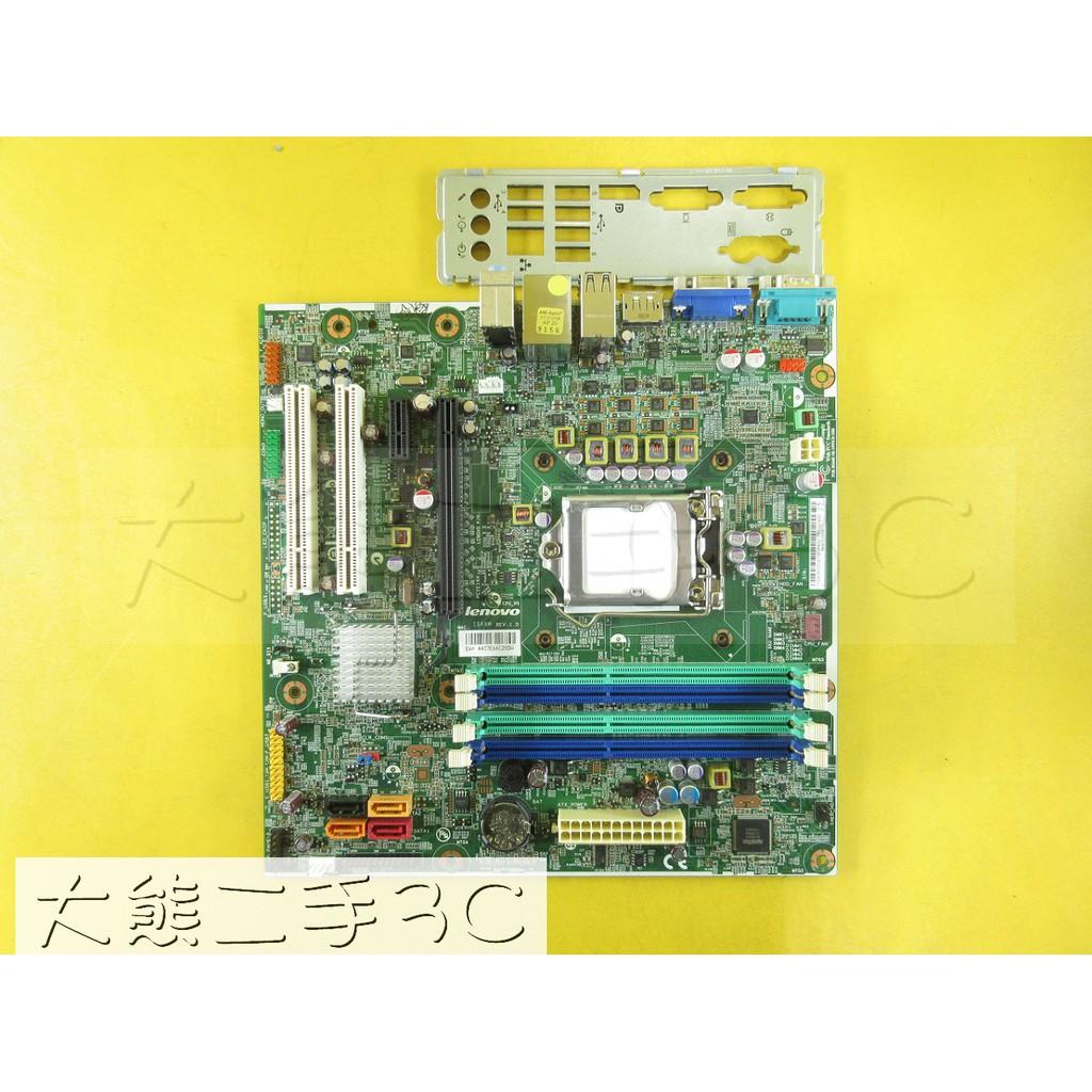 【大熊二手3C】主機板 1155 Lenovo M81 03T8005 IS6XM Q65 DDR3 (777-1)