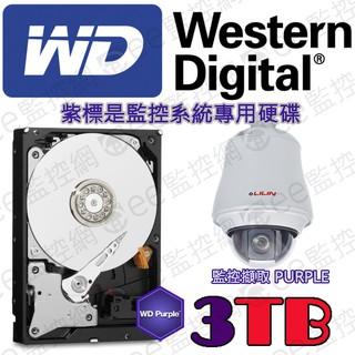 WD 紫標  3T 3TB 硬碟 監視器 監控專用 WD30PURZ 3.5吋 SATA3低溫 低轉速 穩定性高 臺北市