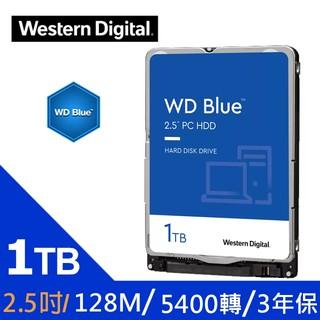 WD [藍標7mm] 1TB 2.5吋裝機硬碟(WD10SPZX)客訂產品請詢貨況 可留言 留貨 新北市