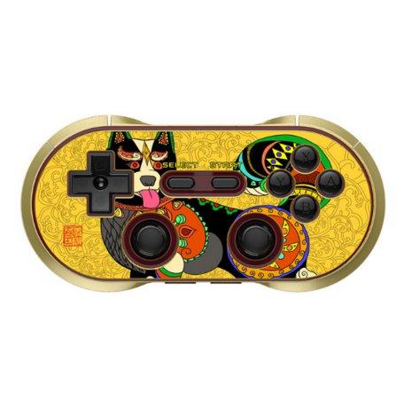 狗年限量版8Bitdo八位堂無線藍牙遊戲手柄 支持Switch gamepad  甜甜