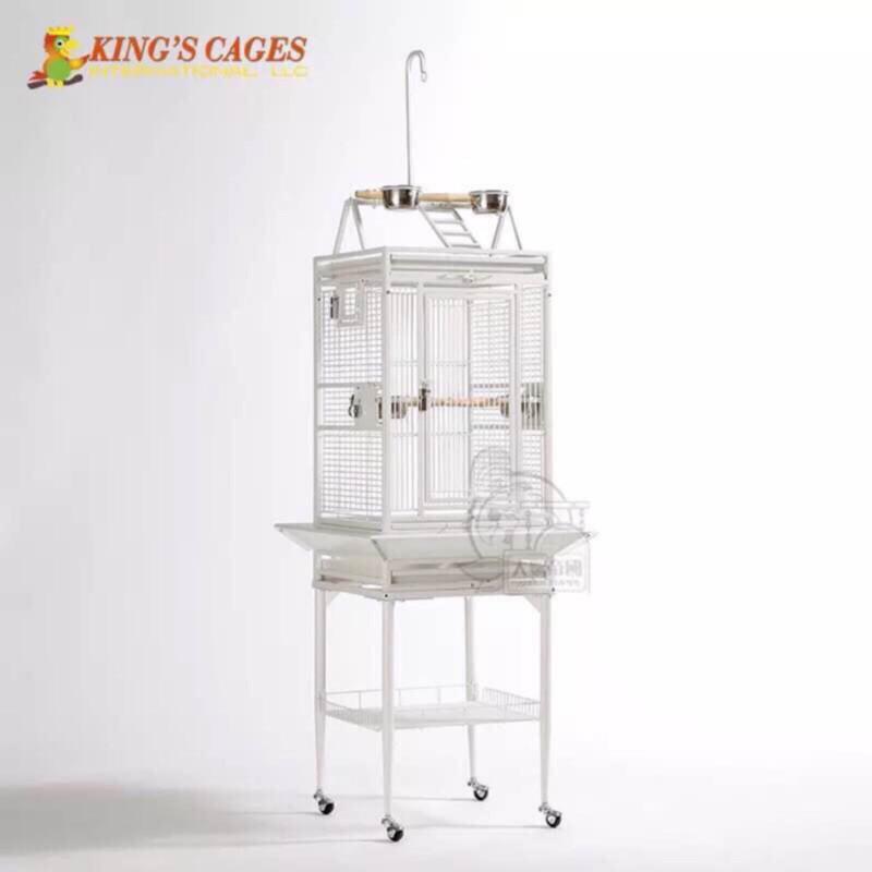 【大鸚帝國】美國金氏KING'S CAGES / 意式頂架籠(小型) / 鸚鵡鳥籠 / 高雄總店實品展示