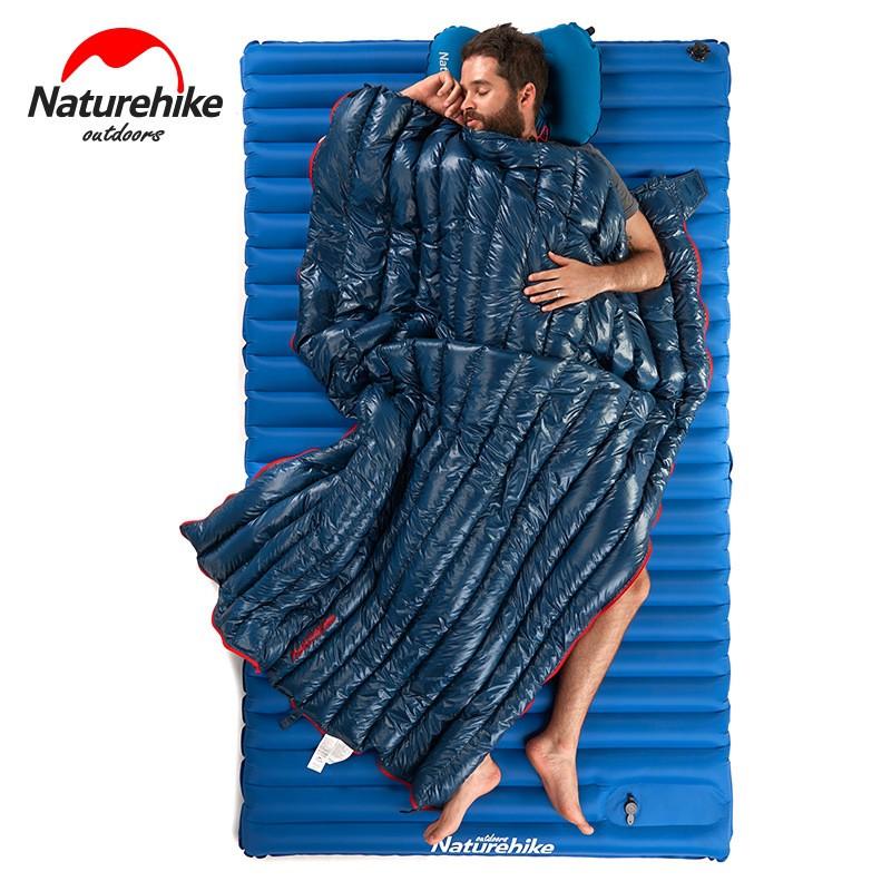 【熊居】羽絨睡袋 成人 超輕 鵝絨睡袋 戶外 露營 春秋冬季保暖 可拼接