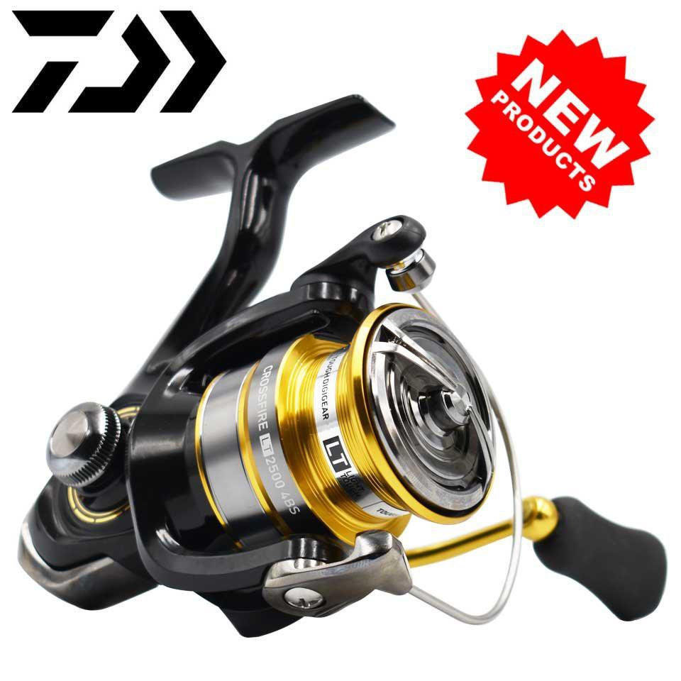 DAIWA Reel CROSSFIRE LT Spinning Fishing Reel 1000-6000 ABS