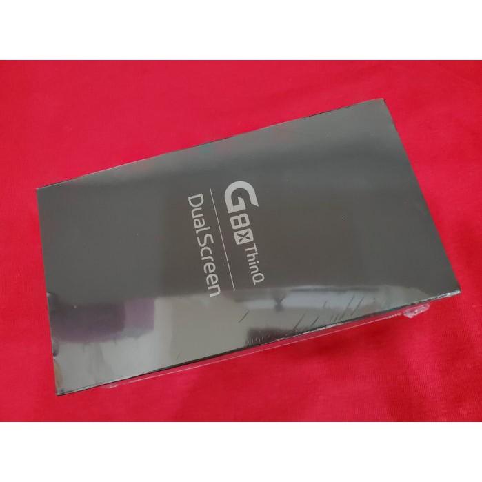 ※聯翔通訊 黑色 雙螢幕 LG G8X ThinQ 台灣LG原廠保固一年 原廠盒裝 ※換機優先
