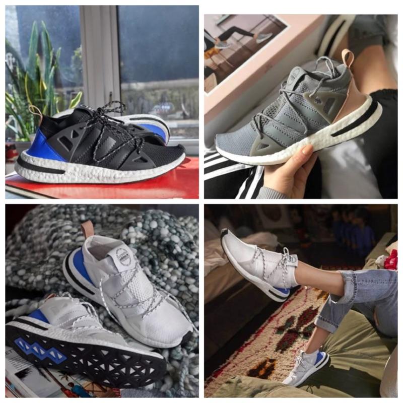 欣闆娘美國代購 特價 Adidas originals ARKYN繫帶芭蕾舞鞋