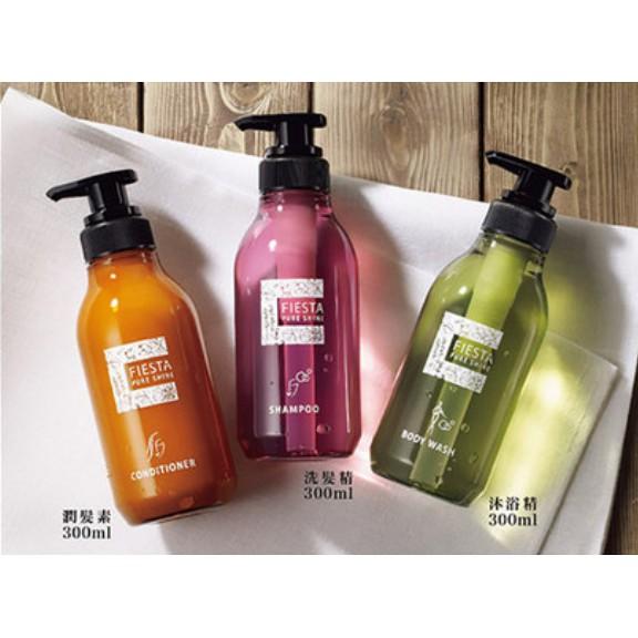 (好市多,免運) 日本製 Fiesta洗髮沐浴套裝組(三合一)