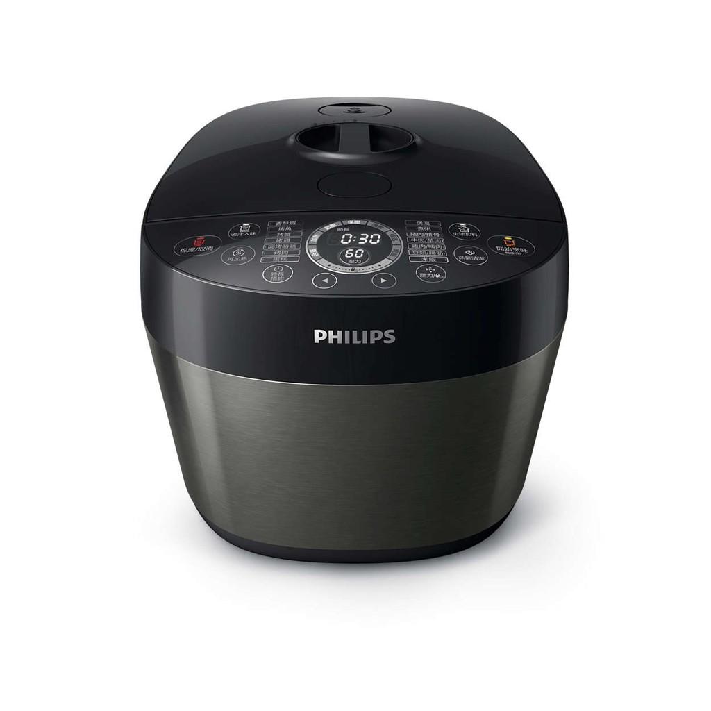 【飛利浦 PHILIPS】雙重溫控智慧萬用鍋 HD2141