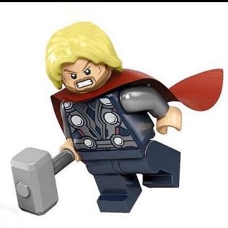 「樂高粉」 LEGO 樂高 超級英雄人偶 雷神索爾 含雷神錘 6868 6869 花蓮縣