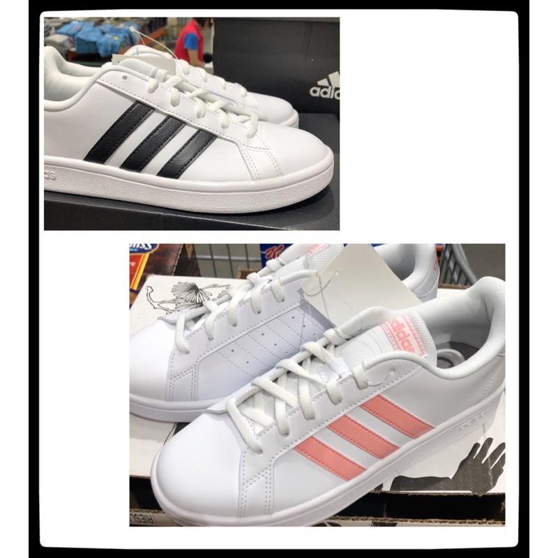 Costco代購-Adidas女 平底休閒鞋(US6-9)