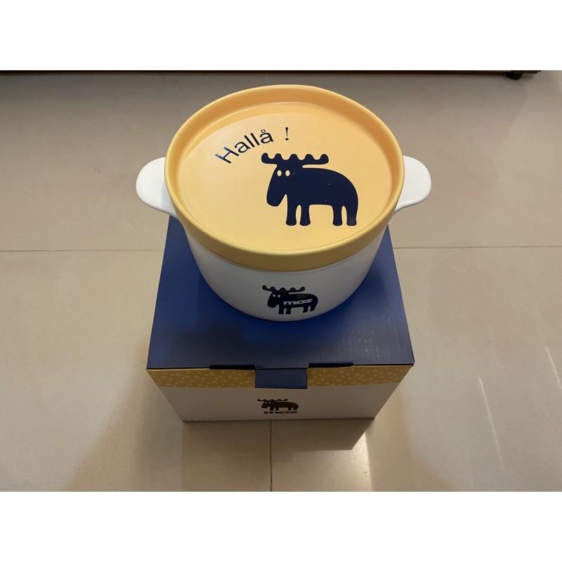 [全新]Moz陶瓷碗盤組-黃色