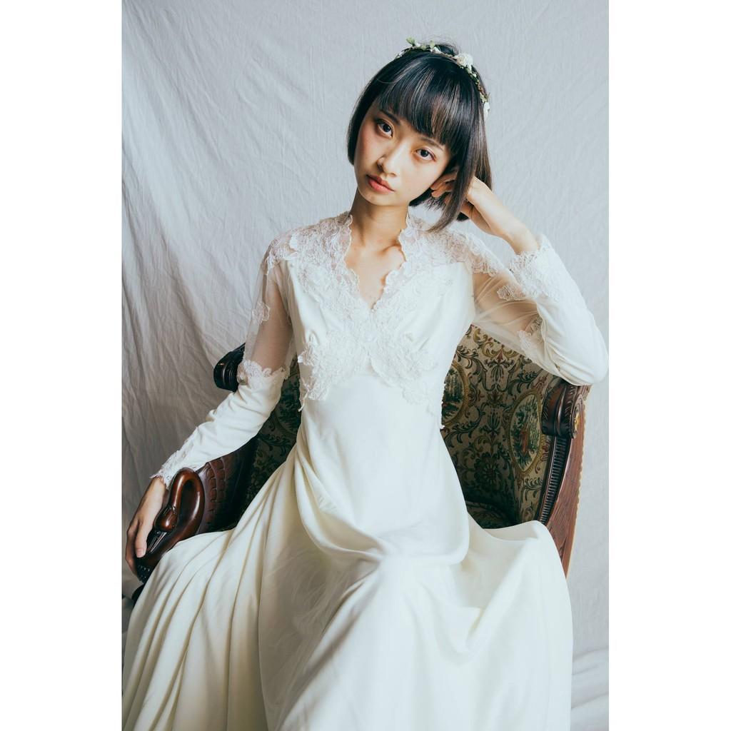 Vintage Wedding Dress 古董美製婚紗禮服/ 古董婚紗/復古婚紗A04 Tabi Vintage 旅著