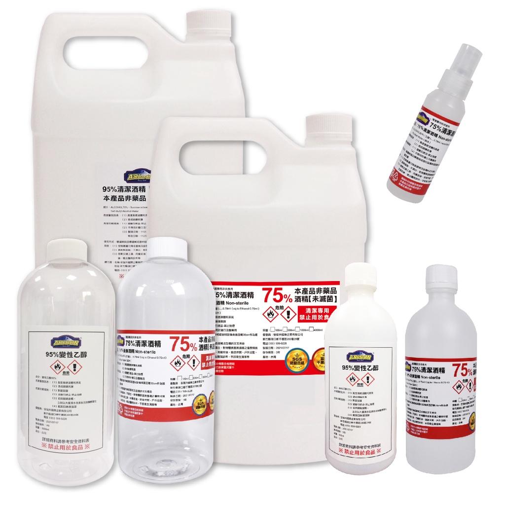 ✅SGS合格✅正 乙醇 1加侖 75%酒精 95%乙醇 清潔酒精 95%酒精 變性乙醇 酒精 非藥用 乾洗手