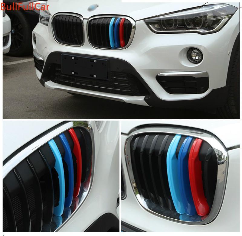 BMW X1 E84 F48 三色中網 水箱罩 三色扣 M Performance (三色卡扣 三色鼻頭 三色網) X5
