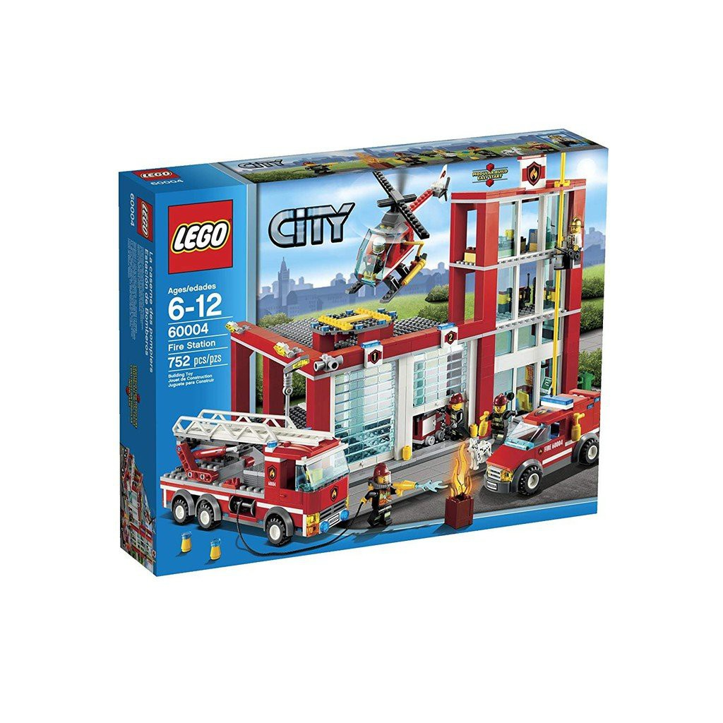 [Yasuee台灣] LEGO 樂高 60004 CITY 消防局 城市系列 下單前請先詢問