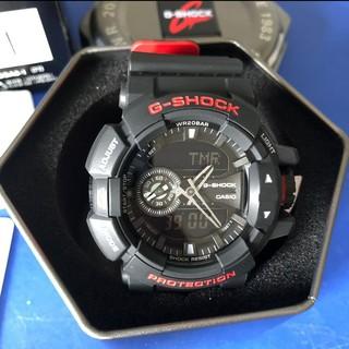 CASIO 卡西歐 G-SHOCK 特別版重機雙顯錶 黑紅 防水手錶 運動錶 機械錶 GA-400HR-1ADR 桃園市