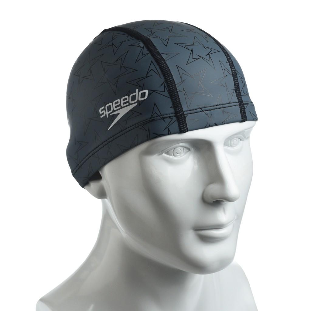 ✨鐘友體育✨現貨 speedo 成人合成泳帽 BoomStar Ultra Pace 灰黑 SD8122389512