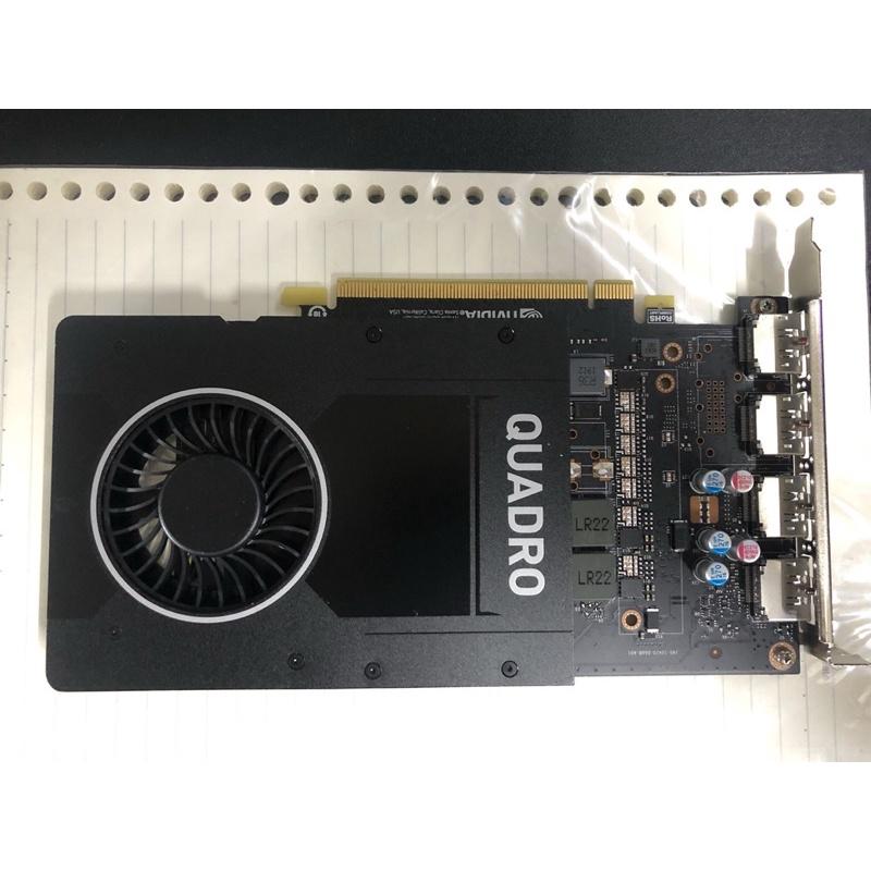 「限量供貨」 NVIDIA Quadro P2200 專業繪圖卡 批購品 非礦卡 無原盒 無保固 售後不退費可換