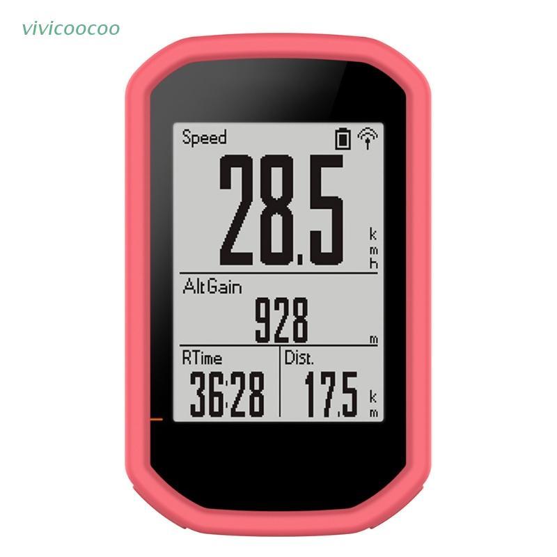 VIVI   KOK 適用於 Bryton Rider 430 320 GPS 的矽膠保護套保護套防震