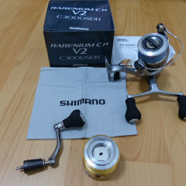 Shimano軟絲捲線器