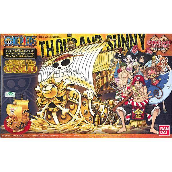 【BANDAI】航海王組合模型 偉大之船 千陽號(劇場版GOLD紀念色)