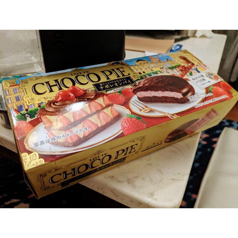 樂天巧克力派-拿破崙草莓蛋糕風味#單盒#好市多#季節性