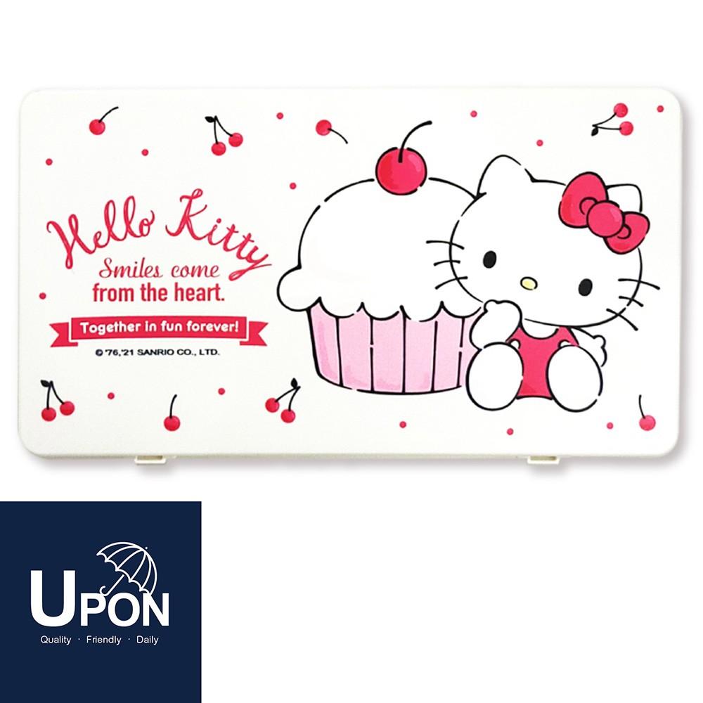 UPON生活-Hello Kitty口罩收納盒 三麗鷗系列 卡通口罩盒 攜帶盒 置物盒 小物盒 防塵盒 口罩收納夾