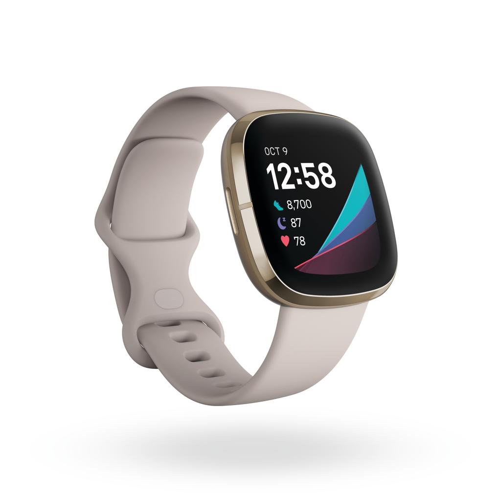 Fitbit Sense 一卡通智慧手錶 月光白