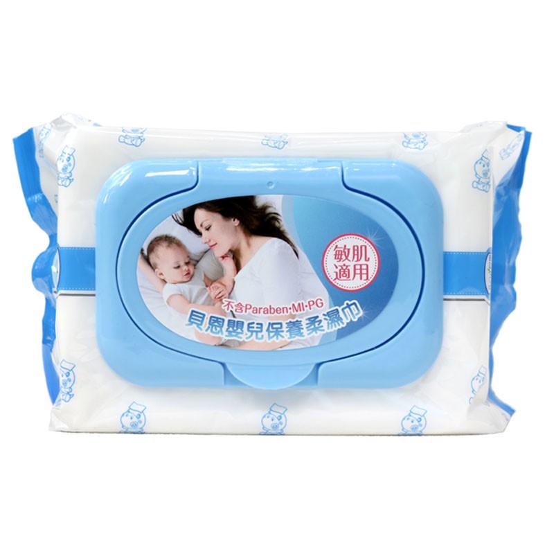 (貝恩)嬰兒保養柔濕巾x12包