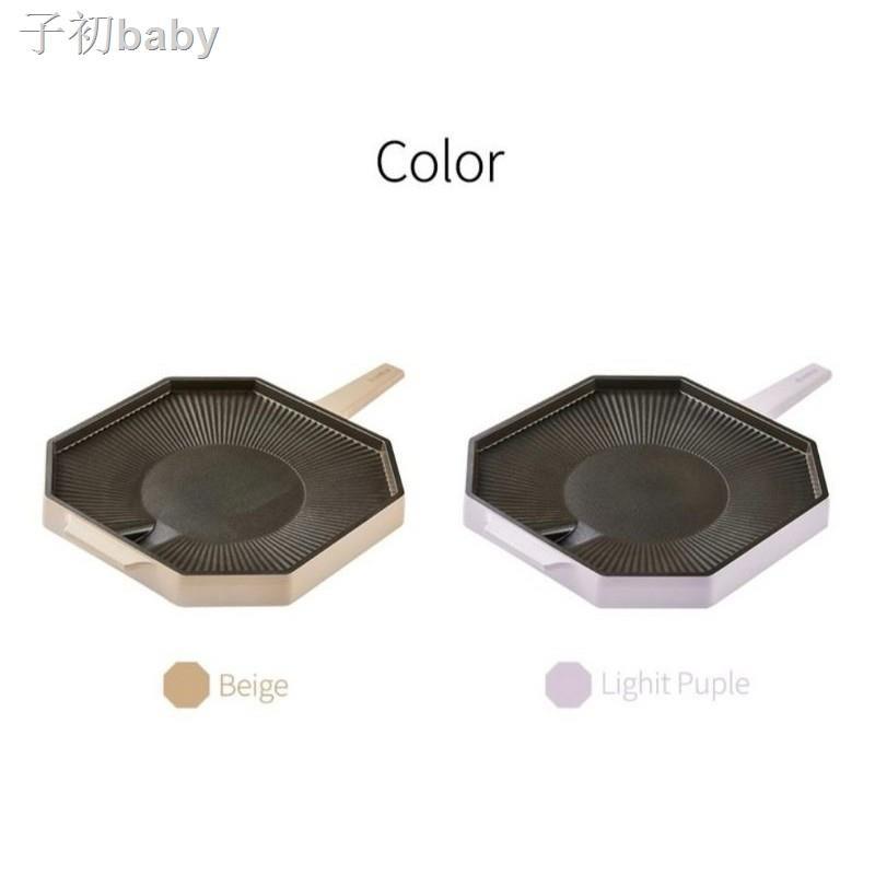 現貨熱銷新✷♤韓國 Dr.HOWS 28cm烤盤 單柄八角烤盤 露營 野餐 韓國烤肉