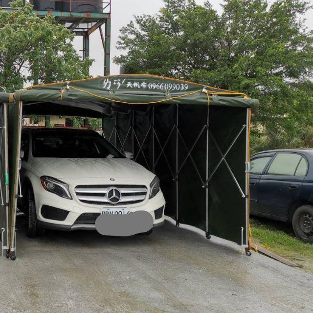 活動車庫,車篷 休旅車型 (高7尺),藍天帆布 帆布的專家