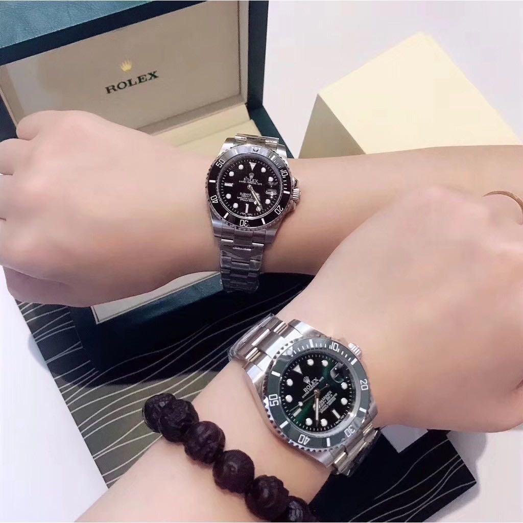 Rolex/勞力士 N廠v5 夜光 勞力士綠水鬼 勞力士黑水鬼 鬼王 潛航者 系列女生機械腕錶手表