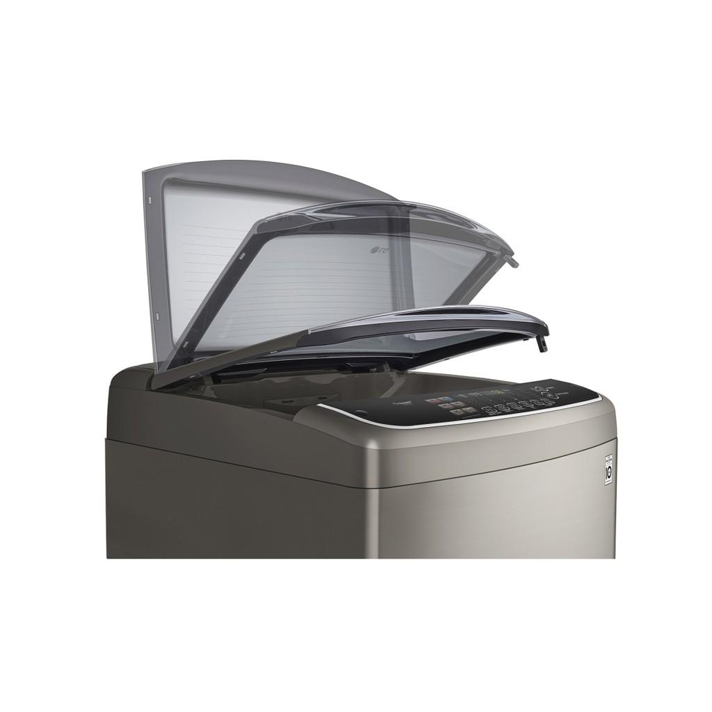 LG WT-D169VG 6MOTION DD 直立式變頻洗衣機 不銹鋼銀 / 16公斤洗衣容量