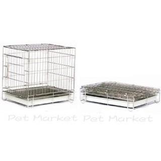 寵物白鐵籠 - 2門白鐵線 折合籠 ( 1.5 X 1尺 ) 臺北市