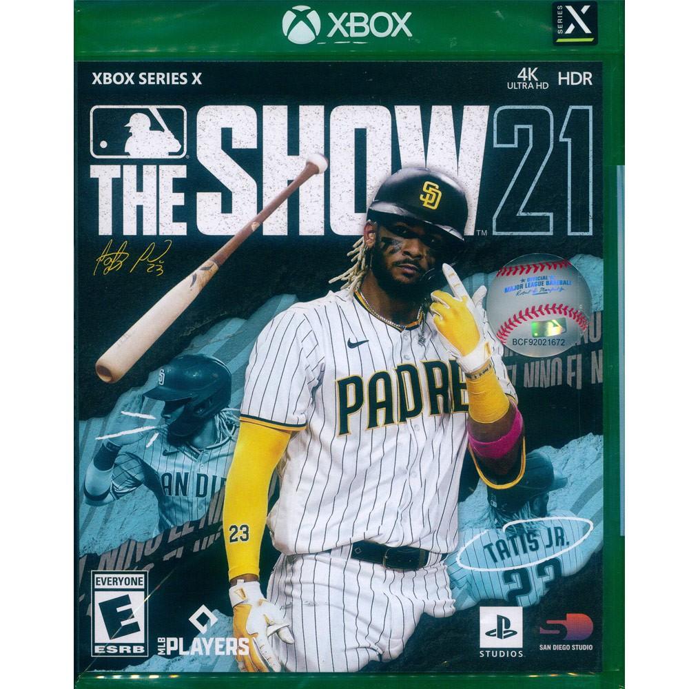 XBOXSX 美國職棒大聯盟 21 英文美版 MLB 21 The Show 美職 棒球 XBOXONE不能玩 【一起玩