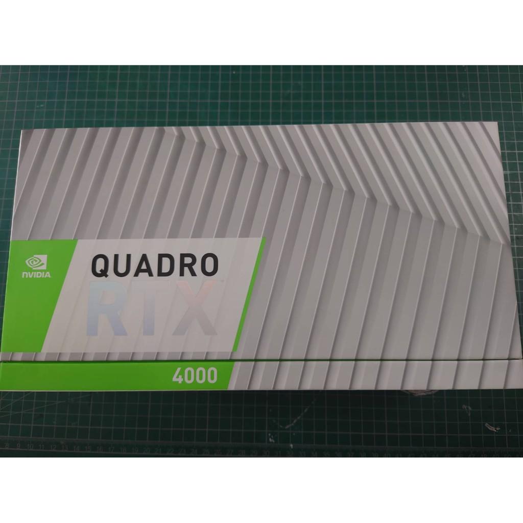 麗臺 NVIDIA Quadro RTX 4000 8GB 繪圖卡  彩盒裝 有保固  3060  3070 3080
