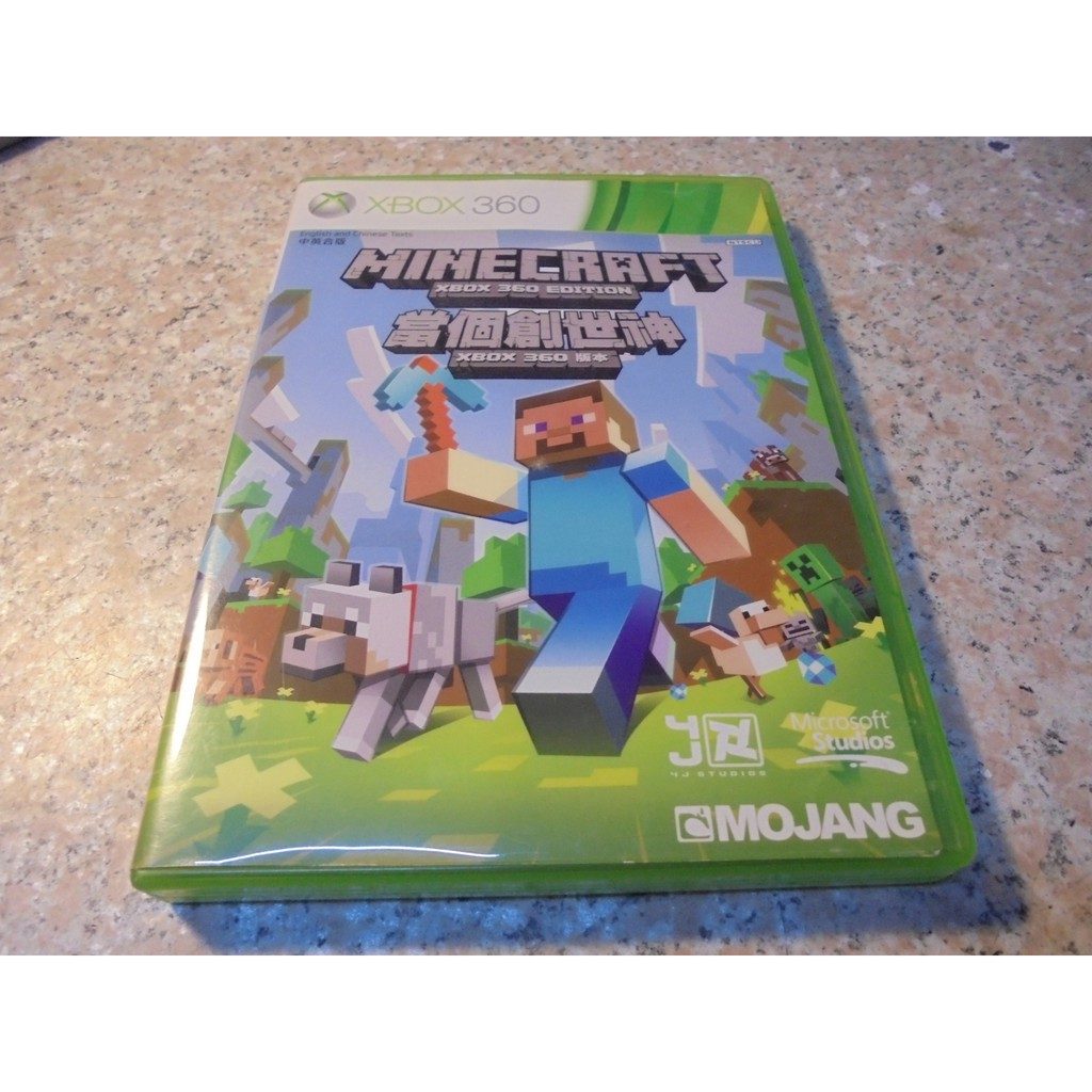 XBOX360 當個創世神/我的世界/麥塊 Minecraft 中文版 直購價800元 桃園《蝦米小鋪》