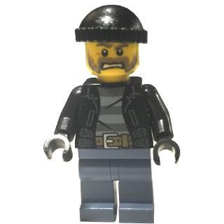 樂高人偶王 LEGO 城市系列#60130 cty0621警察