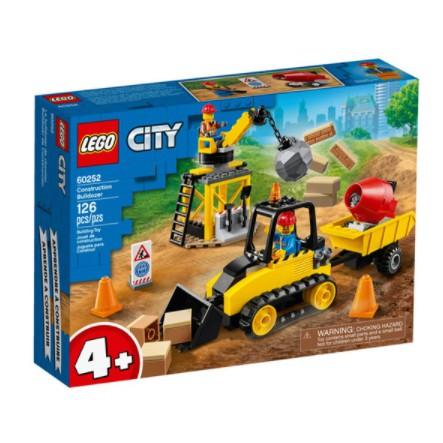 正版公司貨 LEGO 樂高 CITY系列 LEGO 60252 工程推土機