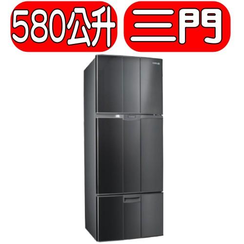 《可議價》SAMPO聲寶【SR-A58GV(S3)】580公升省電脫臭定頻雙門冰箱