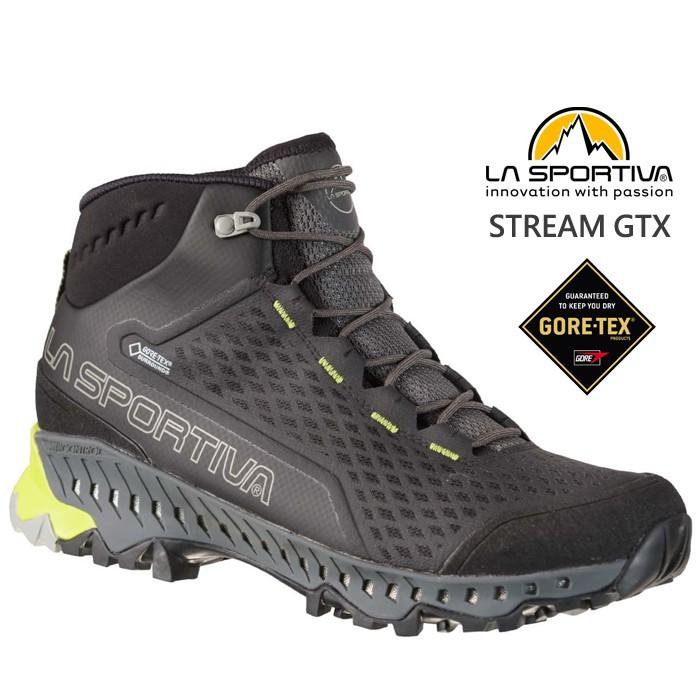 La Sportiva 男款 STREAM GTX Surround 防水健走鞋 登山鞋 24D9007054 綠野山房
