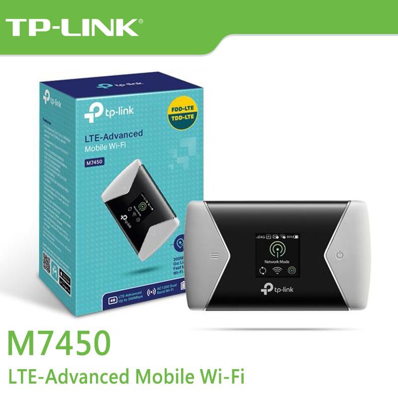 TP-LINK M7450 行動熱點 進階版 LTE 行動 Wi-Fi 300Mbps 【每家比】
