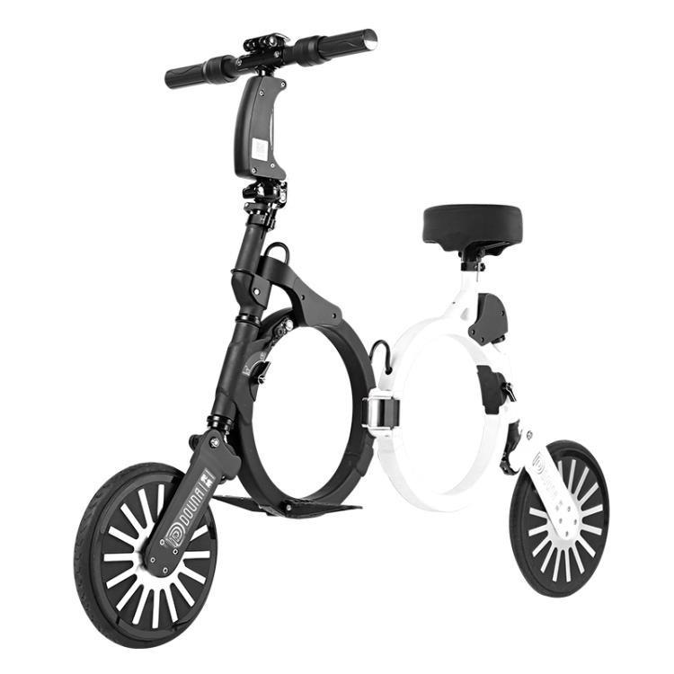 電動車科樂威爾 兜納K1 成人鋰電迷妳小型兩輪代步便攜折疊電動車電瓶車 CY