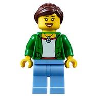 【小荳樂高】LEGO 城市系列 City 女顧客 (60132原裝人偶) cty0675