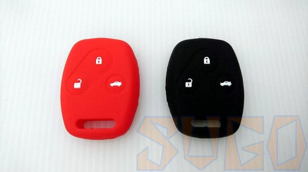 SUGO汽車精品 本田 HONDA CRV 2/2.5代 專用直式鑰匙膠套