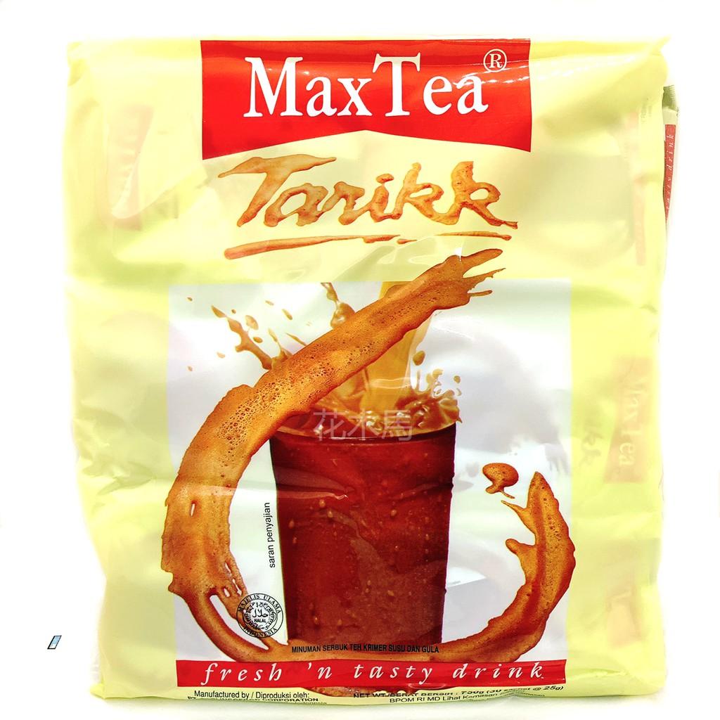 MaxTea 奶茶 沖泡奶茶 即溶奶茶 印尼拉茶 30包入