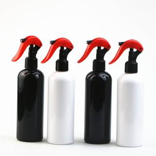 10個起賣 300ML圓肩小老鼠噴槍瓶化妝品分裝噴霧瓶園藝澆花塑料瓶PET包材空瓶酒精瓶化妝品專用瓶